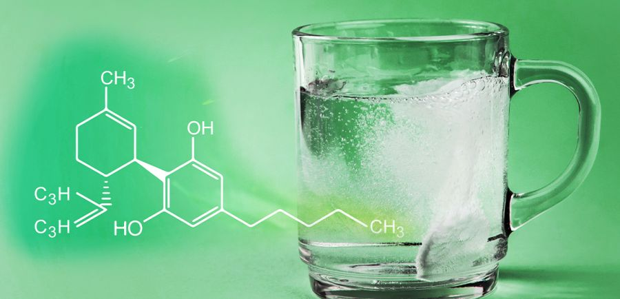 Photo for: Water-Soluble CBD: Why it impacts infused beverage industry so much
