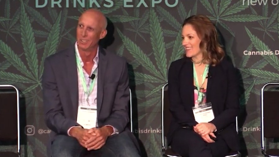 Photo for: Selling & Distributing Cannabis Drinks - Charlie Cangialosi and Rebecca Stamey White