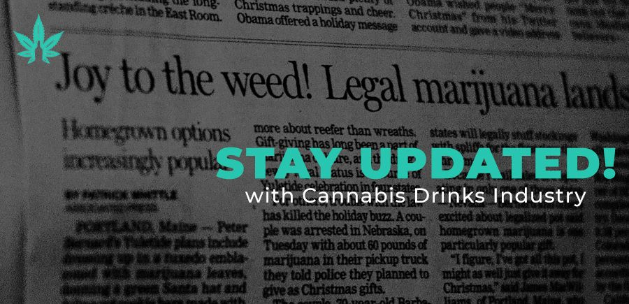 Photo for: Daily Updates from The Cannabis Drinks Industry: Running Blog