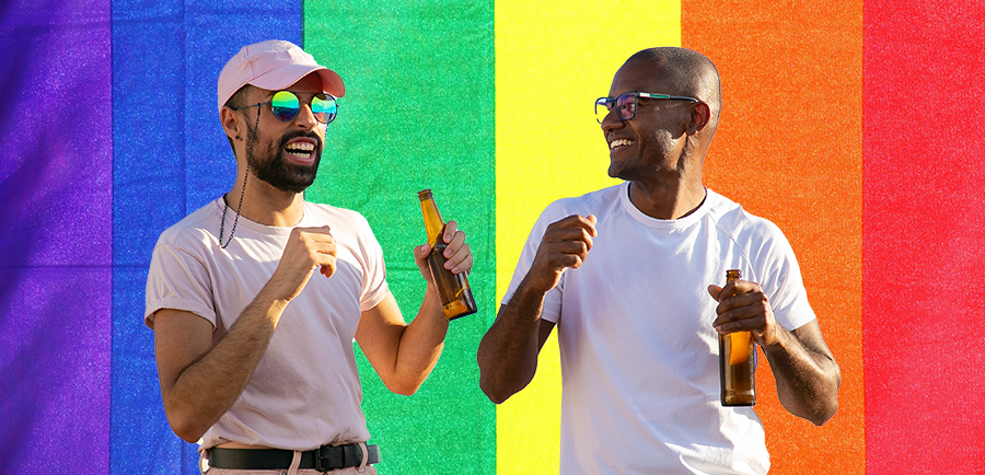 Photo for: Honoring The LGBTQ+ Community In Cannabis Drinks Industry