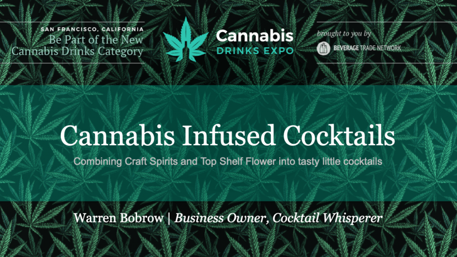 Photo for: Cannabis Infused Cocktails: Presented at Cannabis Drink Expo