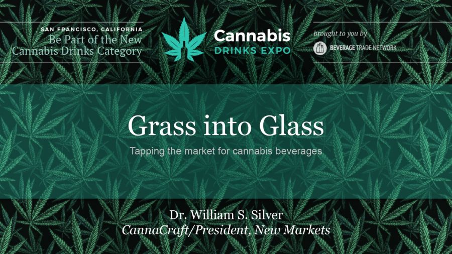 Photo for: Grass into Glass by Dr. William Silver at Cannabis Drinks Expo